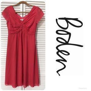 BODEN 100% Silk Dress Sz 6 $269!